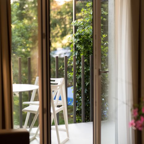 Hotel and guesthouse La Croix Blanche in Posieux - appartements - terrasse